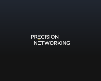 24.precision-networking-typographic-logo-inspiration